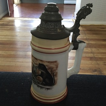 Antique German Stein - Breweriana