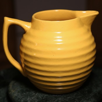 Early Bauer Ringware Pitcher