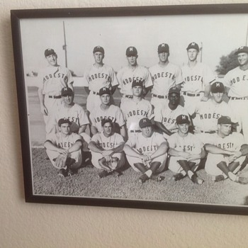 1956 Minor league Team photo Modesto Reds  - Baseball