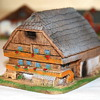 Rare Marklin Apline buildings -  Set of 8