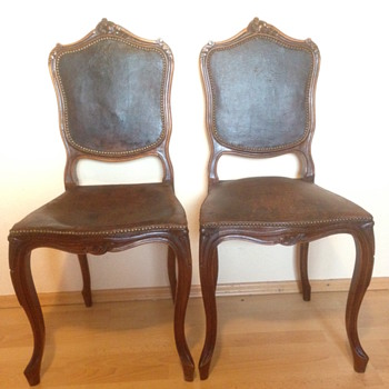 Louis the XV?  Mystery Chairs... - Furniture