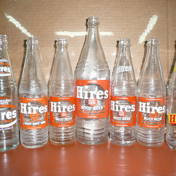 Hires Root Beer Bottles