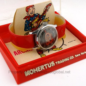 1970's Archie Wrist Watch in Box by Rouan / Mohertus Trading Co.