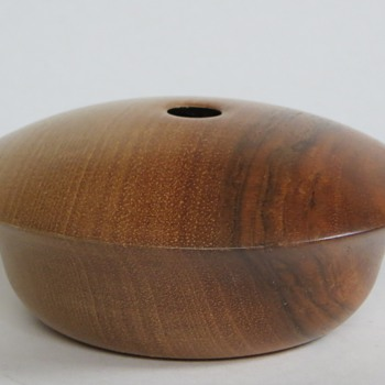 Walnut, Cromwell New Zealand~R.R.S.~AMAZING Wood Vessel - Mid Century Modern