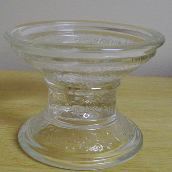 Another candle holder - Glassware