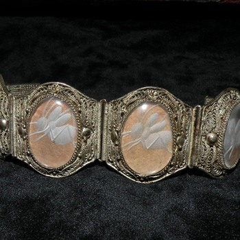 Antique Chinese Crickett Bracelet