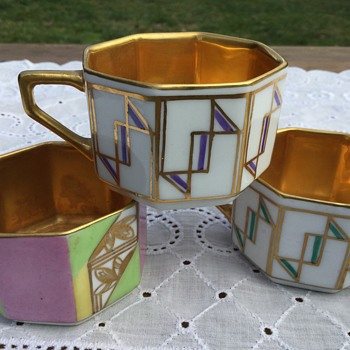Rosenthal Art Deco cups