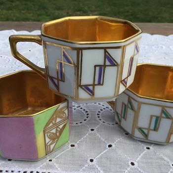 Rosenthal Art Deco cups