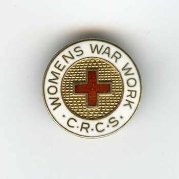 Enameled Pin - Military and Wartime