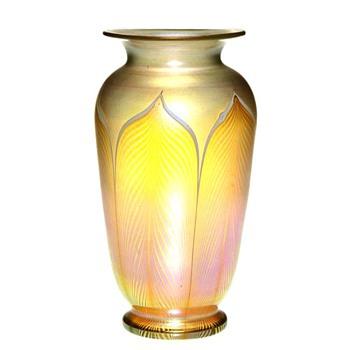 Rare Colors Durand Vase c. 1925