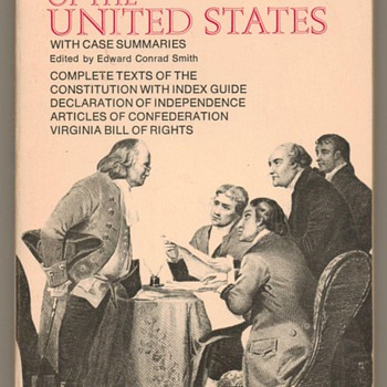 1972 -The Constitution of the United States - Books