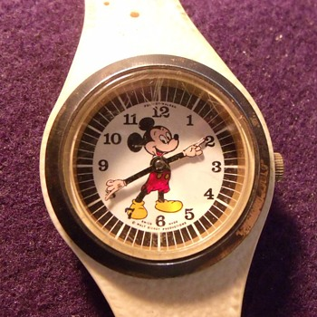 1969 Phinney Walker Mickey Mouse & Donald Duck Watches - Wristwatches