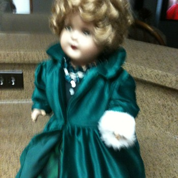 "18 "" Shirley Temple Doll"