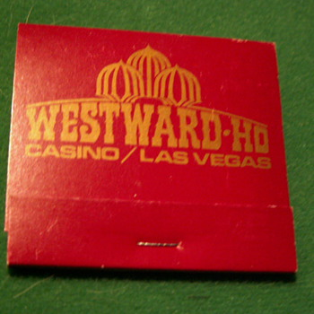 Vintage Westward-Ho Casino ~ Las Vegas, NV ~ (the Strip) Las Vegas Blvd.