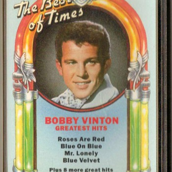 """Bobby Vinton"" - Cassette Tape - Records"