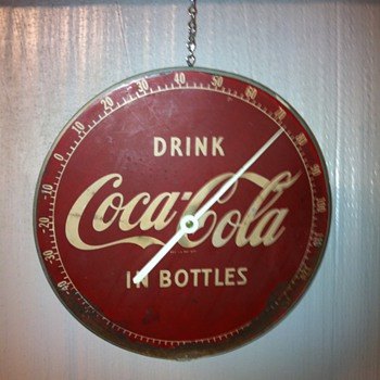 Coca Cola thermometer - Coca-Cola