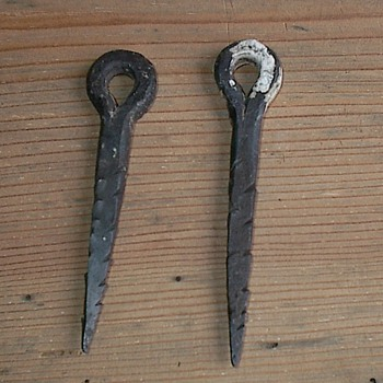 1800 era iron unknown items. - Tools and Hardware