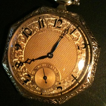 Gruen Verithin Pocketwatch (17 Crystals) - Pocket Watches