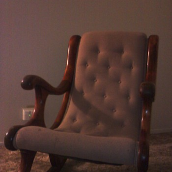 This chair has been in my family for at least four generations