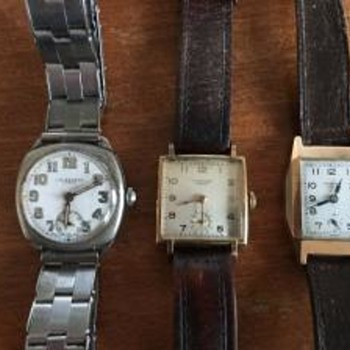 J W Benson Gents Watches.