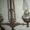 Victorian Dining Room Lamp Holder