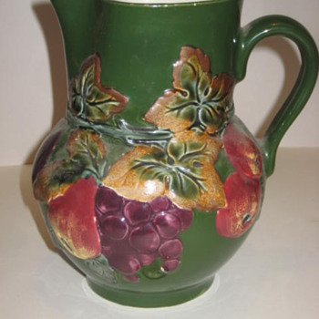 Czech Pottery, Majolica Colors :)