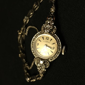 14K Antique Lady Hamilton watch