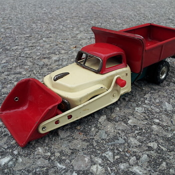 SSS Tinplate Self-loading Dump truck - Model Cars
