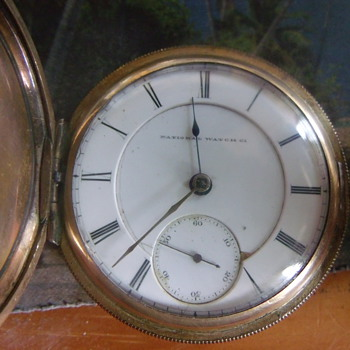 1873 National Watch Co, B W RAYMOND  - Pocket Watches