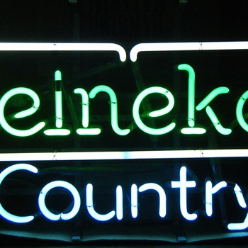 Heineken Country Neon Sign