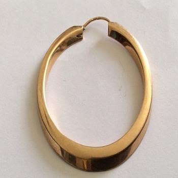 Gold earring  - Fine Jewelry