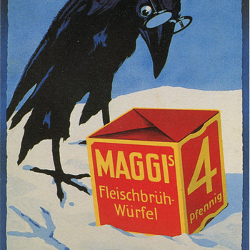 Vintage Maggi Advertisement - Advertising