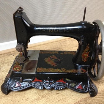Very old and rare Singer sewing machine