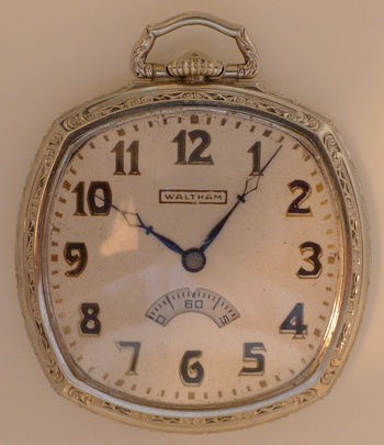 how to wind a waltham pocket watch