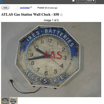 NPI Atlas Clock