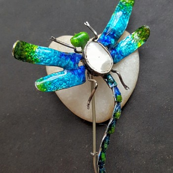 Poor big dragonfly! - Fine Jewelry