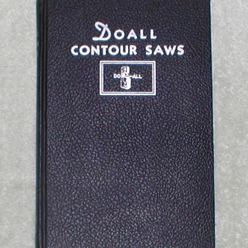DoAll Contour Saws Book - Books