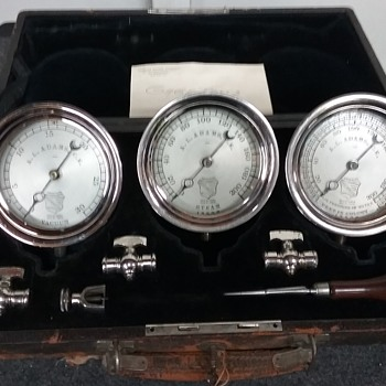 ASHCROFT STEAM VACUUM PSI GAUGES '1876