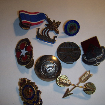 Military pins?