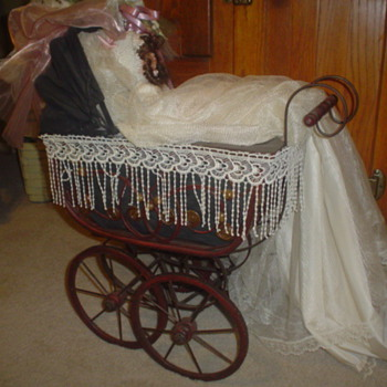 doll and buggy - Dolls