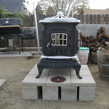 "My new ""patio"" stove. =)"
