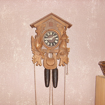1969 regula west germany cuckoo clock