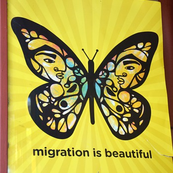 Migration is Beautiful - Poster - Posters and Prints