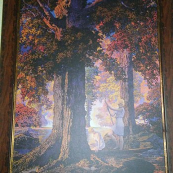 Maxfield Parrish litho
