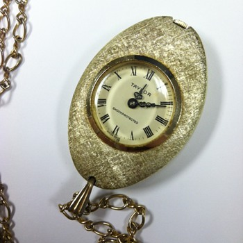 TAYLOR Watch Necklace - Swiss Made - Fine Jewelry