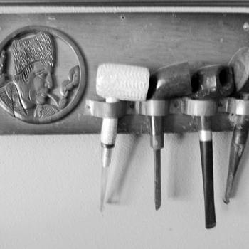 Papo's pipe rack