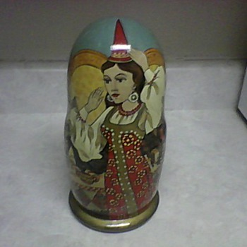 RUSSIAN PRINCESS MATRYOSHKA DOLLS