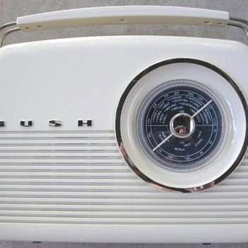 1960 Bush Model TR82 AM/FM Radio (Reproduction) - Radios