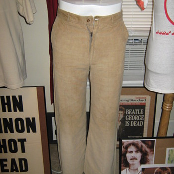 John Lennon's owned and worn pants...circa. 1967...