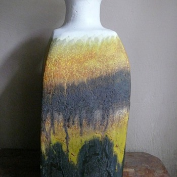 two pieces by marcello fantoni  - Art Pottery